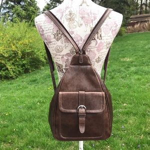 Nine West Brown Backpack